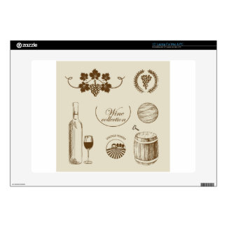 Wine Collection Laptop Skins