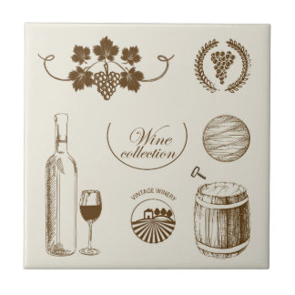 Wine Collection Tile
