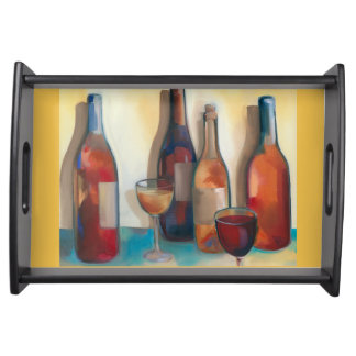 Wine Colors Tray Food Tray