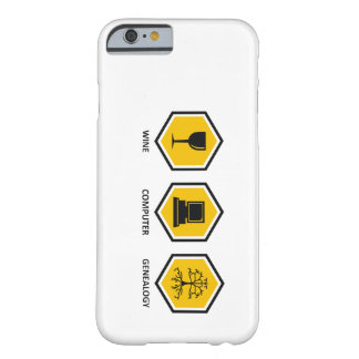 Wine Computer Genealogy Barely There iPhone 6 Case