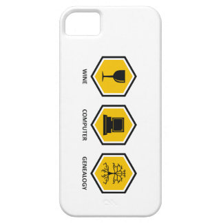 Wine Computer Genealogy iPhone 5 Cover