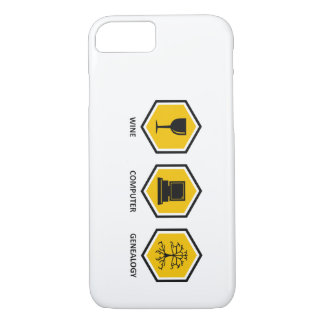 Wine Computer Genealogy iPhone 7 Case