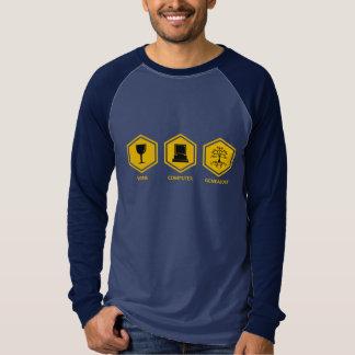 Wine Computer Genealogy Shirt