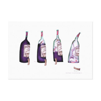 wine connisseur, tony fernandes canvas print