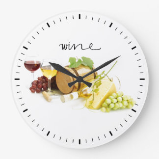 Wine Connoisseur Clock