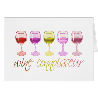 Wine Connoisseur Greeting Cards