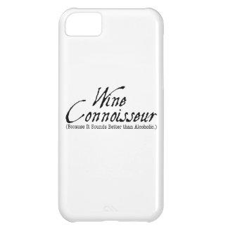 wine connoisseur iPhone 5C cases