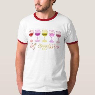 Wine Connoisseur Ringer T-Shirt