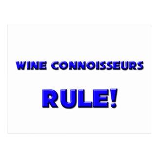 Wine Connoisseurs Rule! Post Card