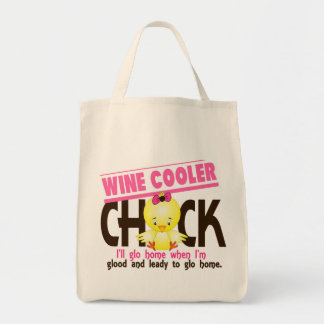 Wine Cooler Chick Tote Bag