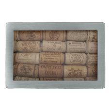 Wine Cork Collection Belt Buckle
