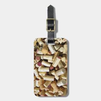 Wine Cork Luggage Tag! Bag Tag