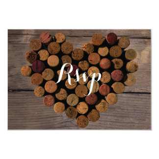 Wine Cork style#2 RSVP and Menu Card
