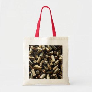 Wine Cork Tote Bags