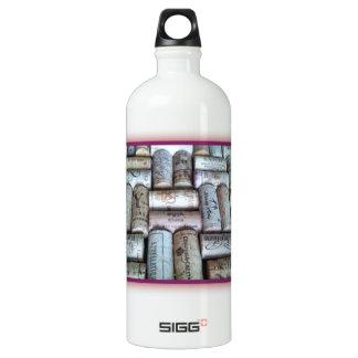 Wine Cork Tray Aluminum Water Bottle