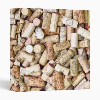 Wine Corks Binder
