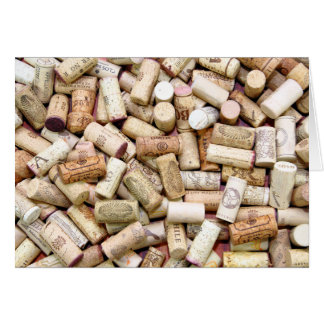 Wine Corks Card
