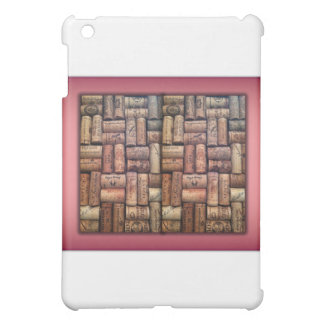Wine Corks Collage iPad Mini Cover