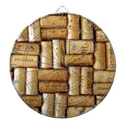 Wine Corks Dart Board