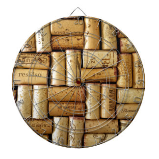 Wine Corks Dart Board