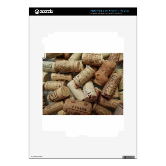 Wine Corks Decal For iPad 3