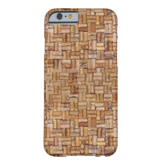 Wine Corks Ecru Tan Taupe Brown Beige Barely There iPhone 6 Case