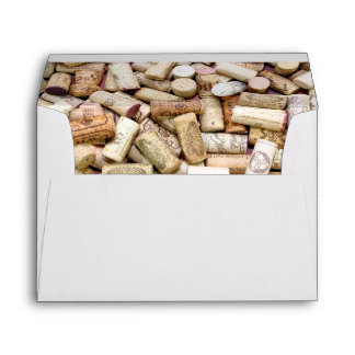 Wine Corks Envelope