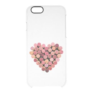 Wine Corks Heart Uncommon iPhone 6/6s Clearly™ Deflector Case