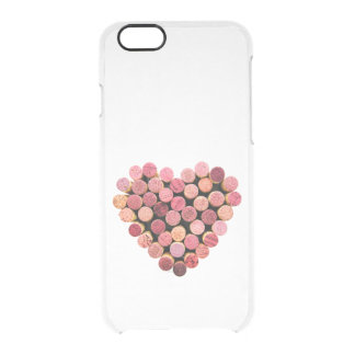 Wine Corks Heart iPhone 6 Clear Case Uncommon Clearly™ Deflector iPhone 6 Case