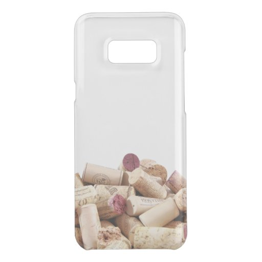 Wine Corks Uncommon Samsung Galaxy S8+ Clearly  Deflector Case