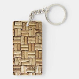 Wine Corks Keychain