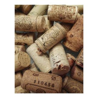 Wine Corks Letterhead