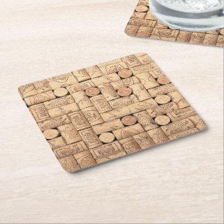 Wine Corks Paper Coasters