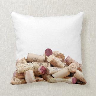 Wine Corks Pillow