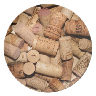 Wine Corks Dinner Plates