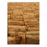 Wine Corks Post Cards
