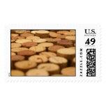 Wine Corks Postage Stamp