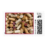Wine Corks Postage Stamps