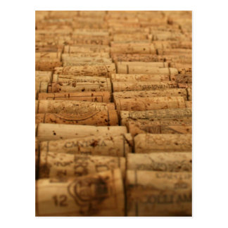 Wine Corks Postcard