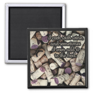 Wine Corks Quote magnet