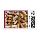 Wine Corks Stamp