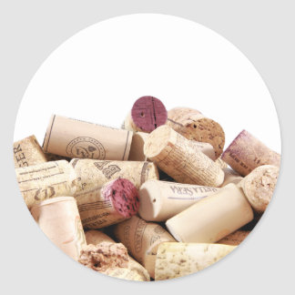 Wine Corks Stickers