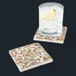 "Wine Corks Stone Coaster<br><div class=""desc"">Wine Corks</div>"