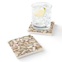 Wine Corks Stone Coaster