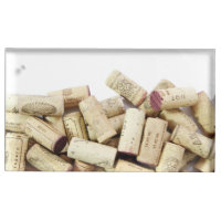 Wine Corks Table Card Holder