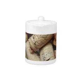 Wine Corks Teapot