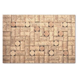 "Wine Corks Tissue Paper 10"" X 15"" Tissue Paper"