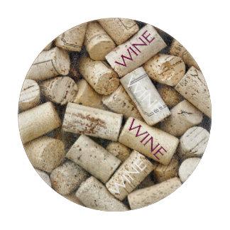 Wine Corks-Wine Cutting Board