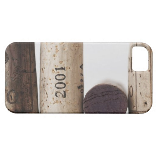 Wine corks with dates iPhone 5 case