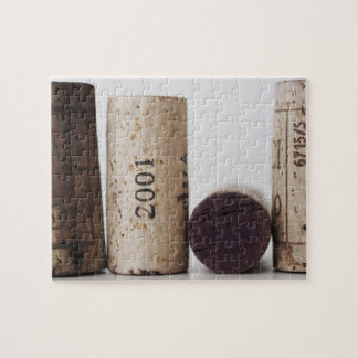 Wine corks with dates jigsaw puzzle